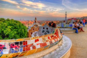 Barcelona - Parc Güell - Flickr https://www.flickr.com/photos/bcnbits/5105175015/